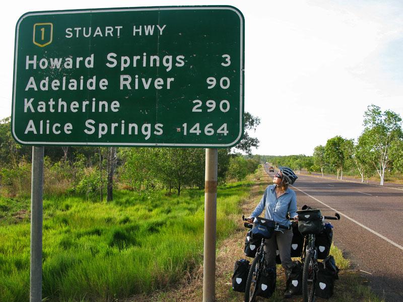 1464km to Alice Springs
