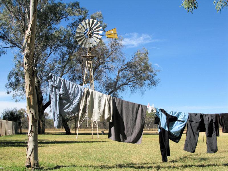 Washing at Ti Tree