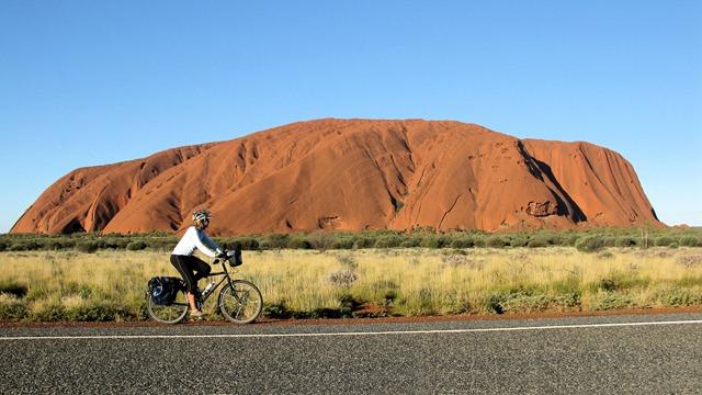 Freddie at Uluru