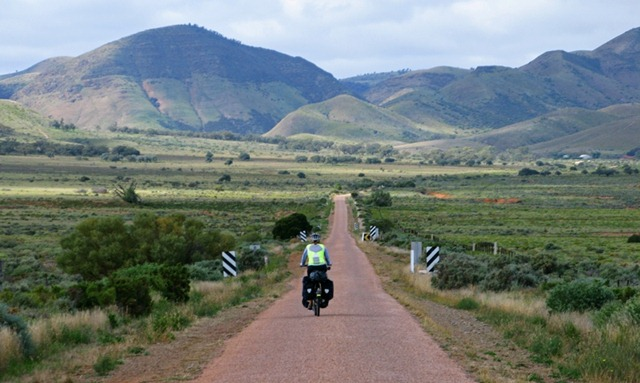 Entering the Flinder Ranges