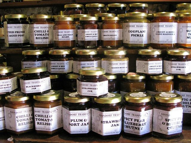 Jams and chutneys