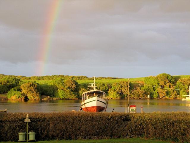 Rainbow in Nelson
