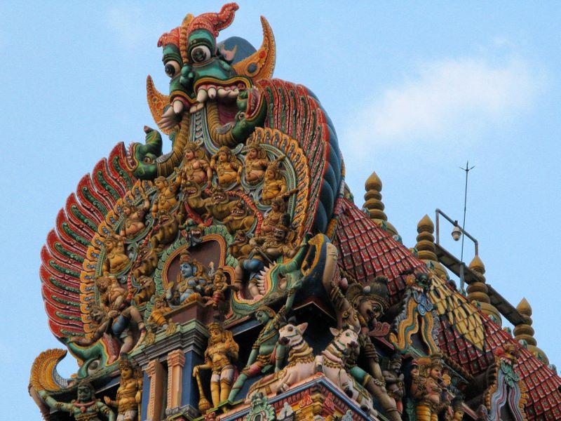 Top of Gopuram