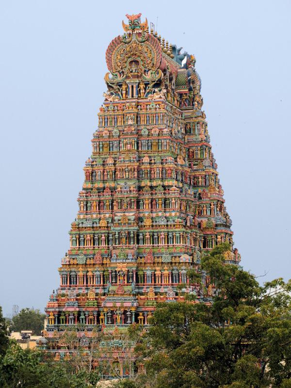 Gopuram in Madurai