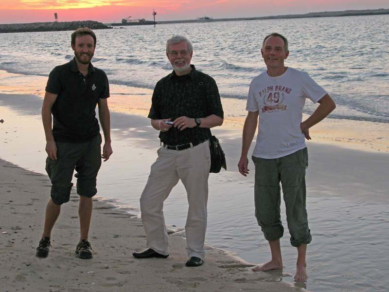 Guy with Freddie's dad and Jörg
