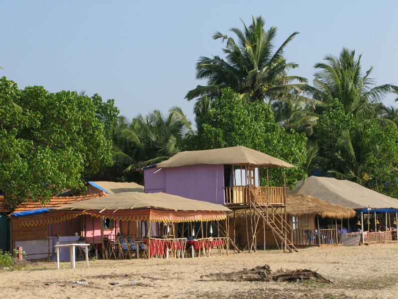 Beach shacks