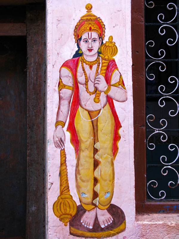 Gokarna wall painting