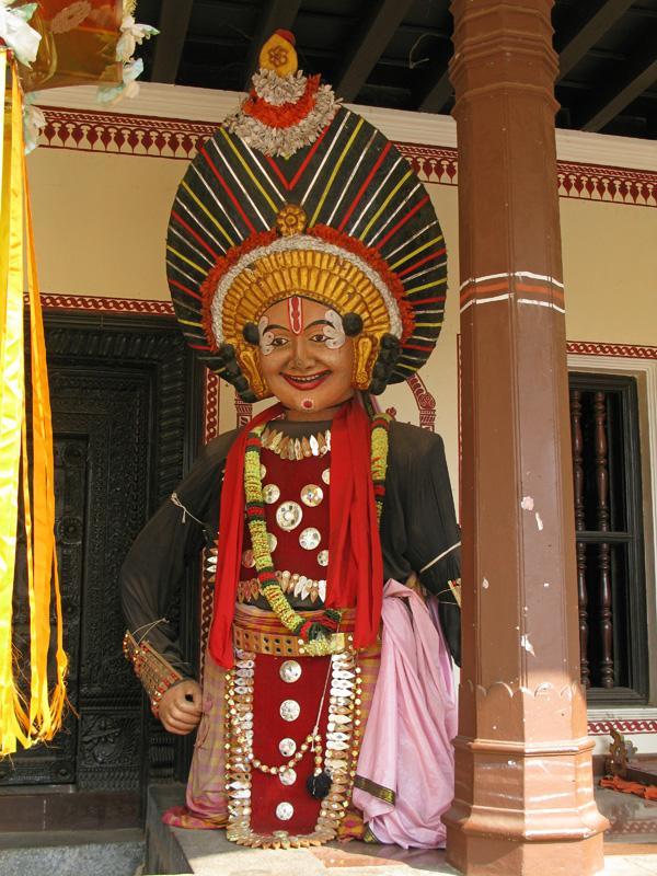 Statue at Udipi temple