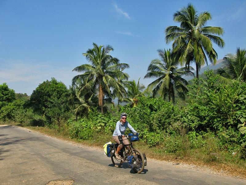Climbing up to Madikeri