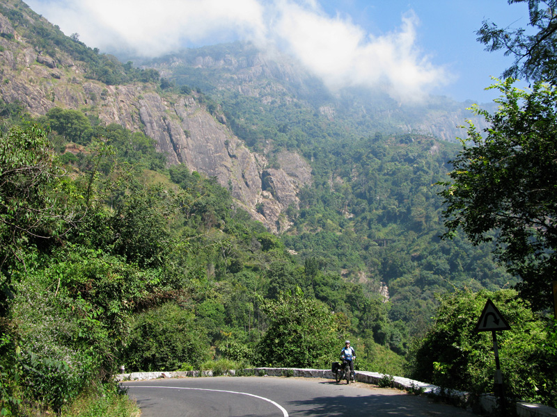Downhill from Ooty