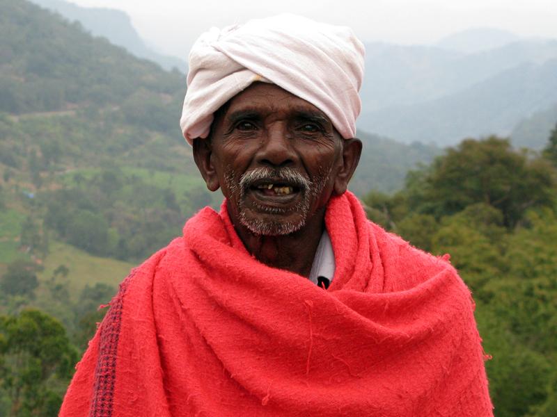 Old man in Marayoor